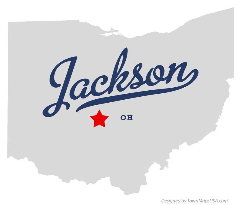 Jackson Ohio Pictures Map Of Jackson Ohio Oh Jackson Pinterest