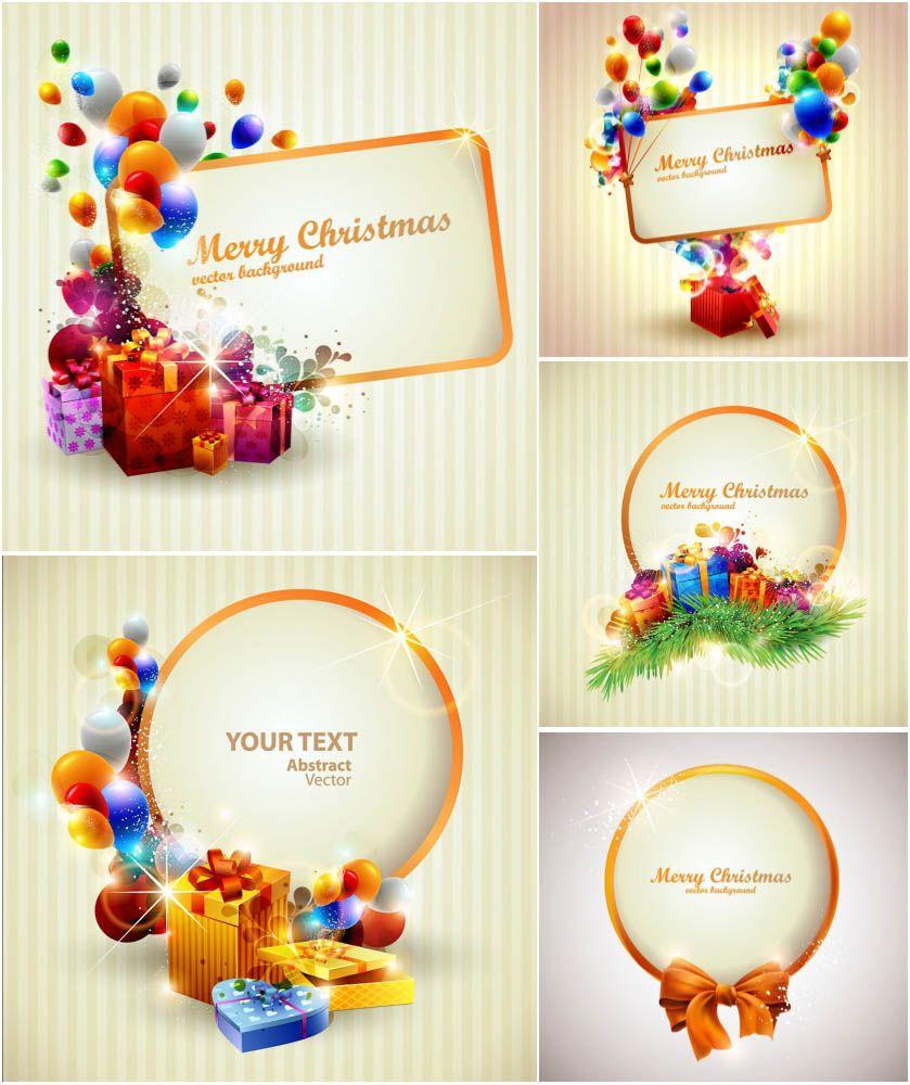 Merry Christmas Clip Art Banner