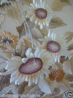 #Stunning  antique french #embroidery  french silk embroidered #picture wood fram,  View more on the LINK: 	http://www.zeppy.io/product/gb/2/272256315495/
