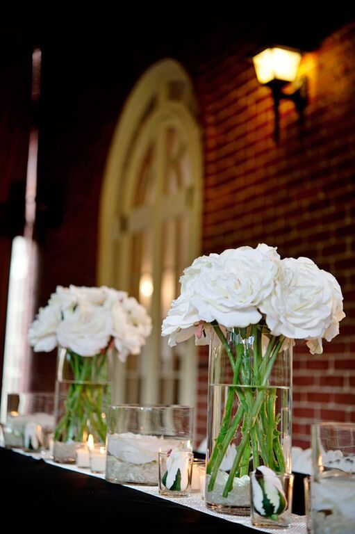 Soft Touch Silk Flower Sophia Open Rose In White Cream 26 My