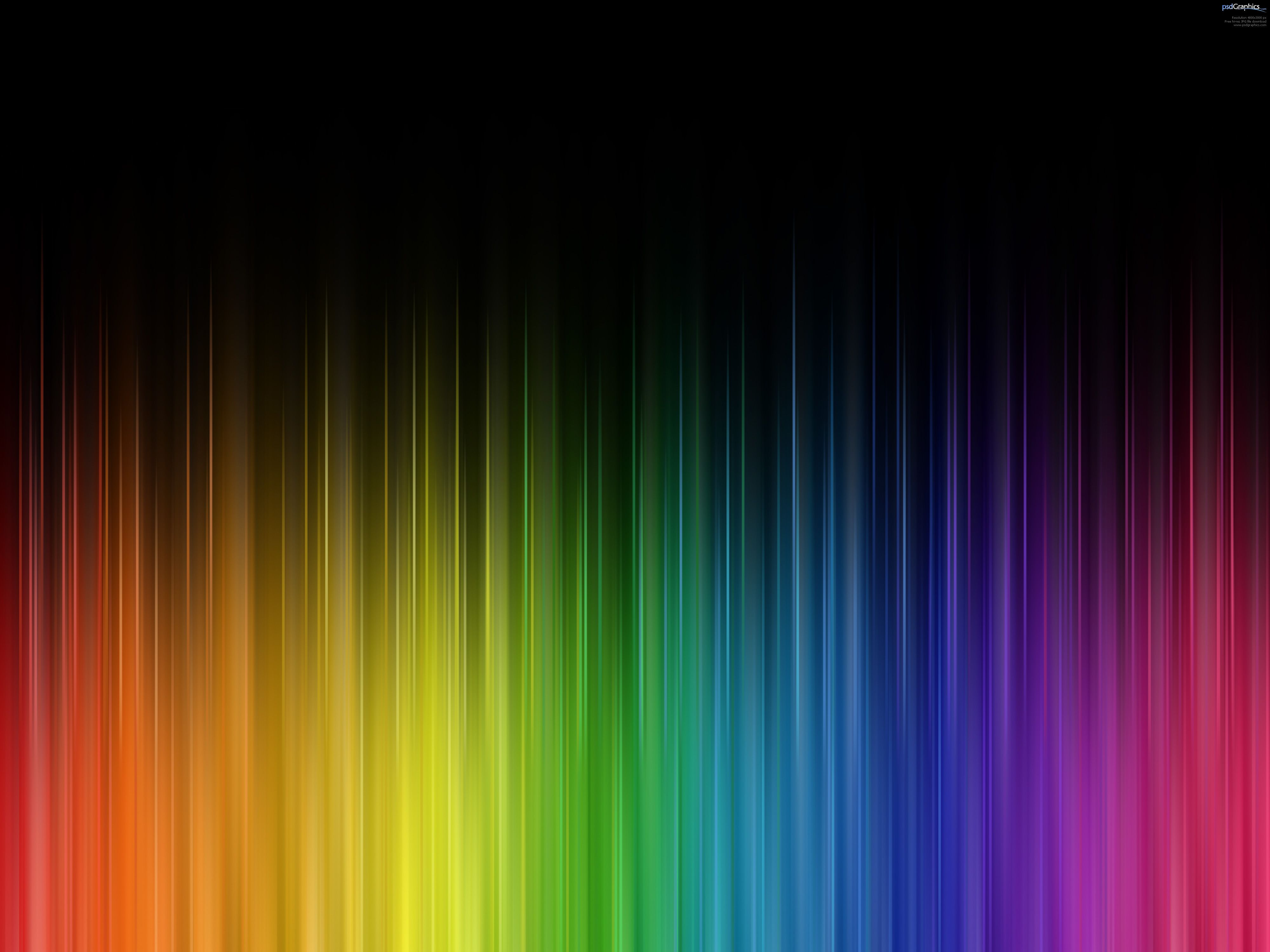 Colors Abstract Rainbow Colors With Images Rainbow Abstract