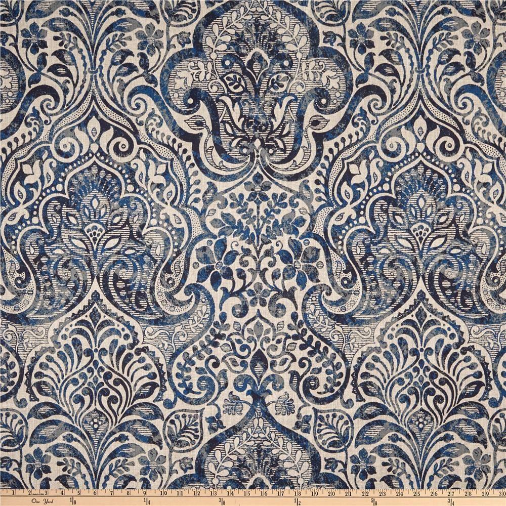 Stof France 100 Linen Noble Bleu Fond Lin En 2020 Con Imagenes Gris Tapiceria