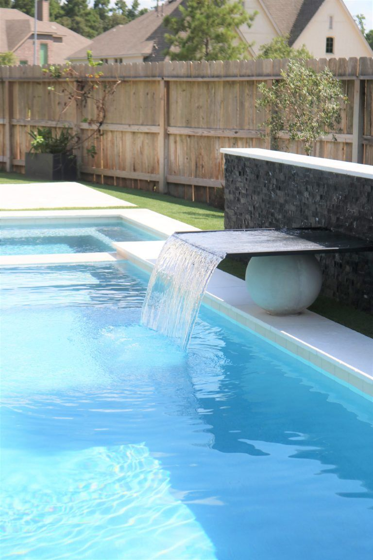 Modern Outdoor Pool And Patio Melissa Roberts Interior Design Home Decor Blog Pool Remodel Swimming Pool Remodeling Pool Patio