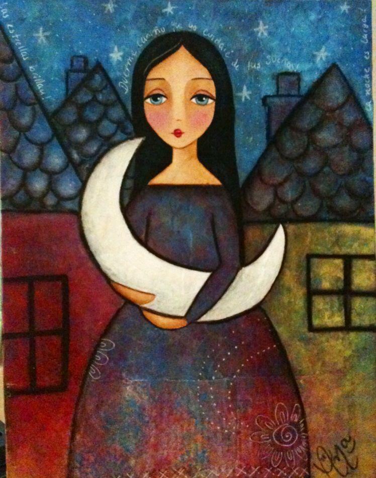 Durmiendo a la luna / by Ana Ferrer