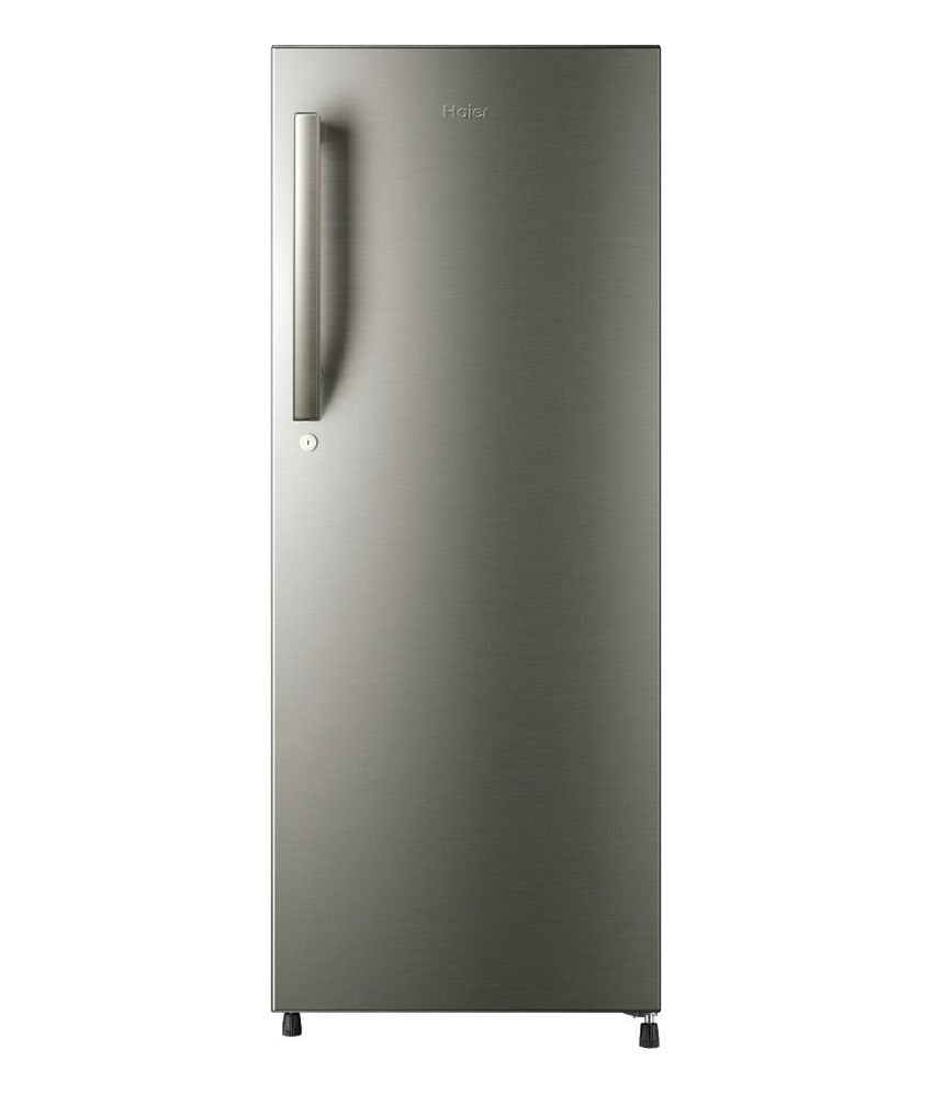 Haier 195 Ltr Hrd 2157bs R Direct Cool Refrigerator Brush Single Doors Energy Efficient Refrigerator Best Refrigerator
