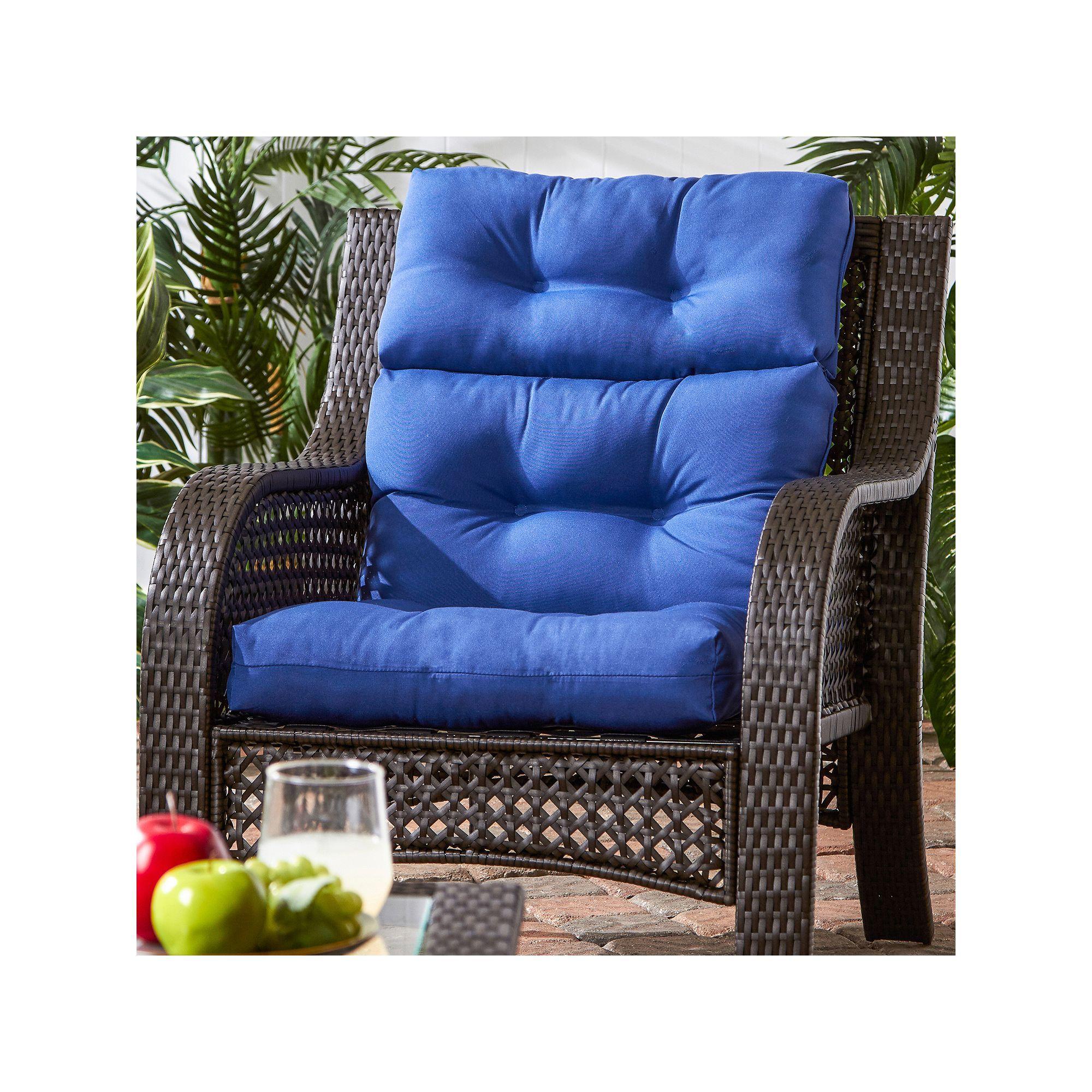 Greendale Home Fashions Outdoor HighBack Chair Cushion