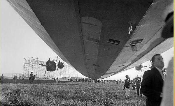Cultura Aeronáutica: Os Zeppelins nos céus brasileiros