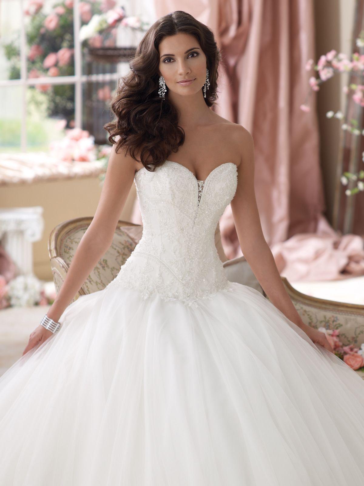 Style No. 114277 » David Tutera for Mon Cheri » wedding dresses 2013 ...