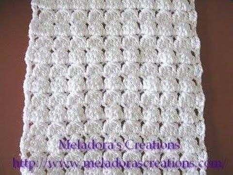 crochet tutorial that teaches you how to make a crocheted