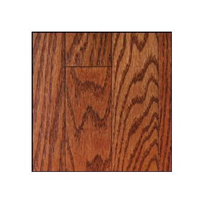 "Forest Valley Flooring St. Andrews 2-1/4"" Solid Oak Flooring in Merlot"