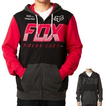 Fox Clutch Zip Hoodie Fox Racing Clothing Casual Hoodie Hoodies