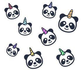 Lol Pandacorn Cute Panda Wallpaper Panda Art Unicorn Wallpaper