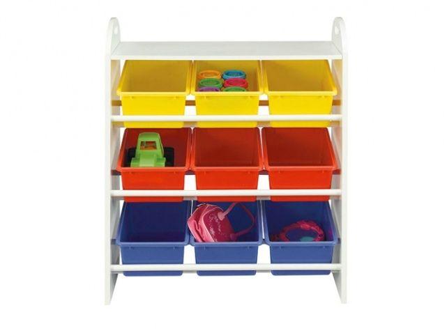 25 meubles de rangement pratiques pour la chambre d'enfant - Elle Décoration   Meuble rangement ...