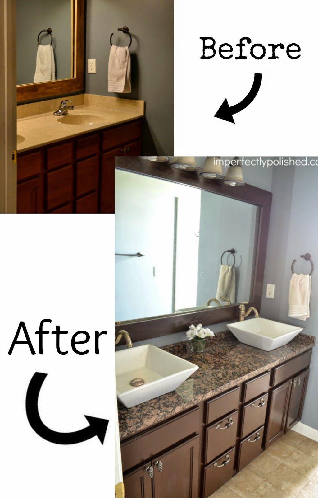 7 Best Diy Bathroom Vanity Makeovers Diy Bathroom Vanity Cheap Bathroom Vanities Bathroom Vanity Makeover