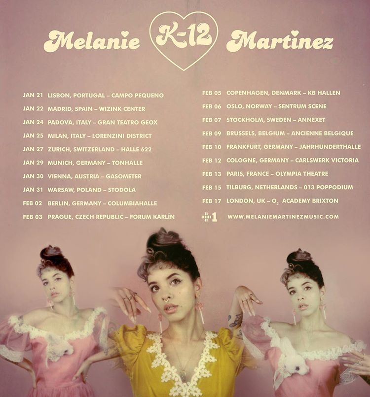 Melanie Martinez On Instagram The K 12 Tour Here Are More Dates In 2020 General On Sale Is 9 27 See You All Soon