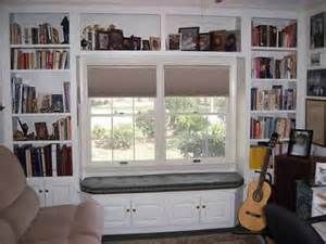 Bookcases With Angled Window Seat