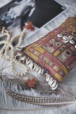 Ethnique Tribal Gypsy Chain Boho Coin Tassel turque Collier Bohemian Dance
