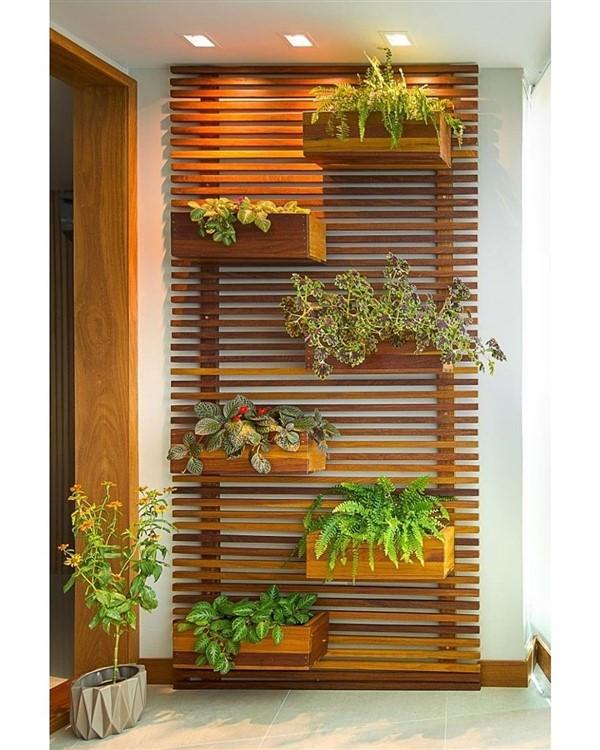 Photo of Vertical Garden Design on Balcony Wall – Unique Ba – Jardin Vertical Fachada