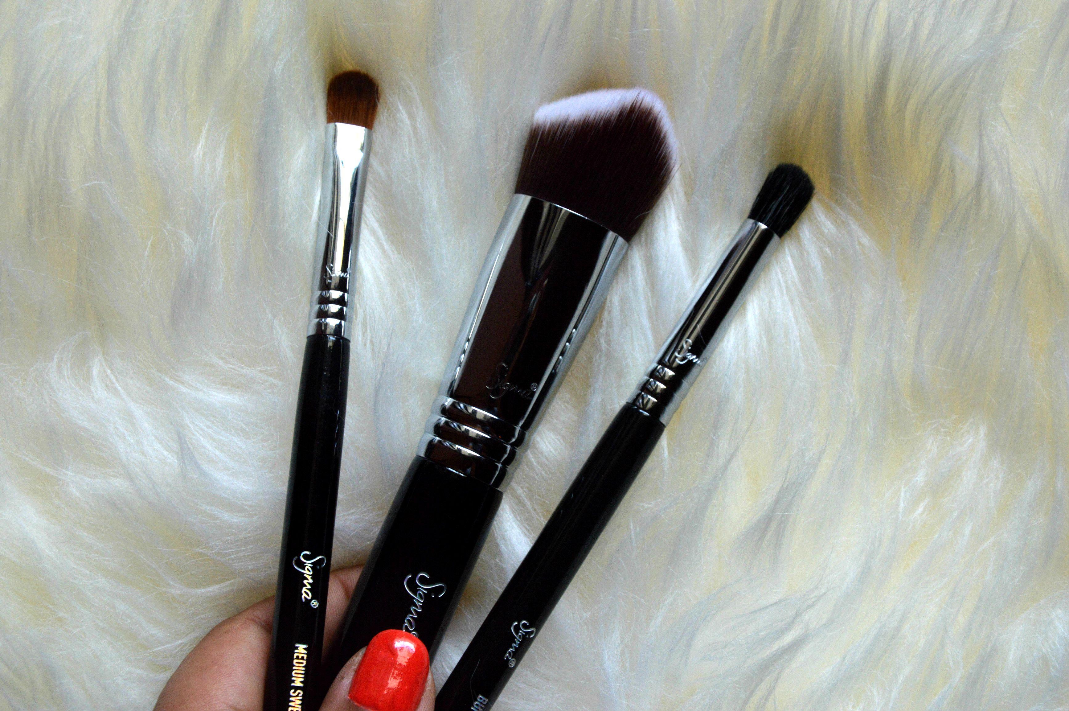 Sigma Makeup Brushes Review 3DHD Kabuki, E39 & E54 (With