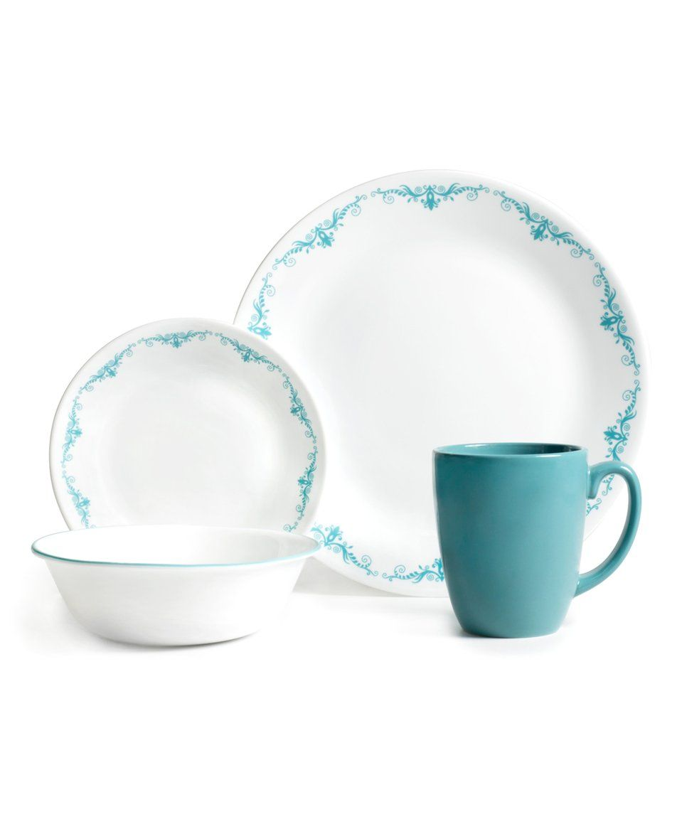 Take A Look At This Garden Lace 16 Piece Dinnerware Set Today
