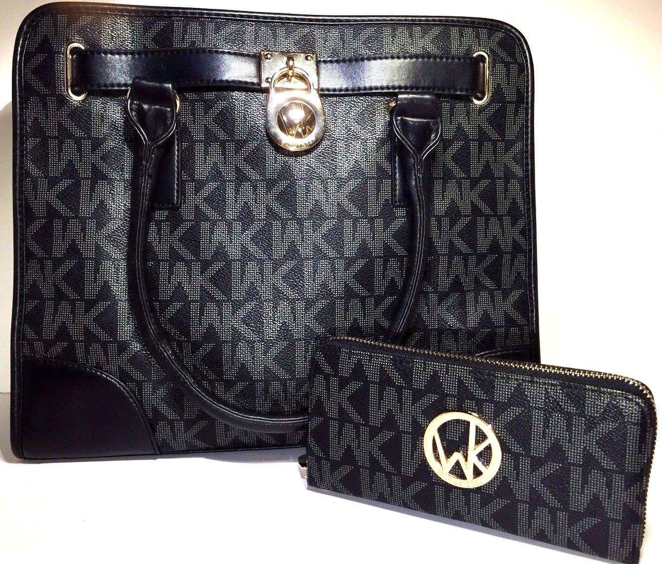 c8243f7259 Wendy Keen Women's Handbag Messenger Shoulder Purse Hobo Tote Bag Wallet  Set | eBay