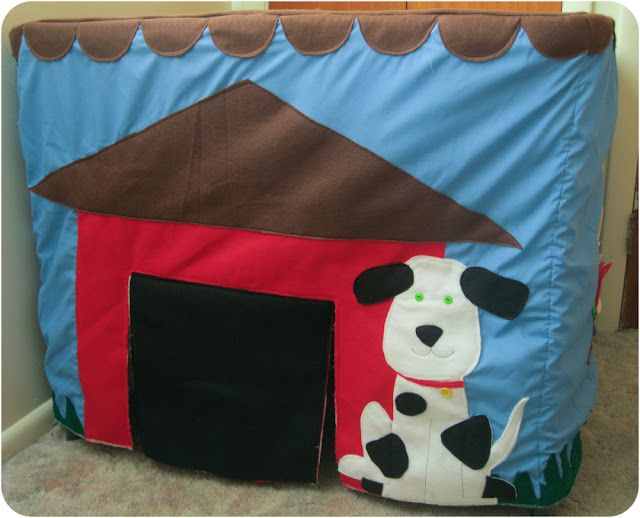 Card Table Playhouse - Peek-a-Boo Pages - Sew Something Special
