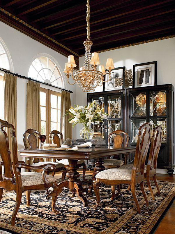 Stupendous Ernest Hemingway Dining Room Thomasville Furniture Download Free Architecture Designs Madebymaigaardcom