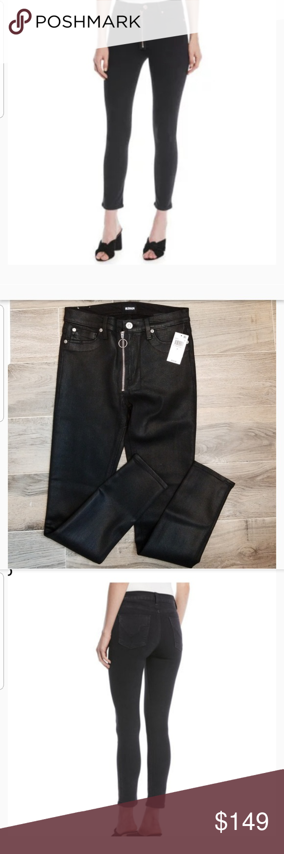 707a54eee87d7 NWT Hudson Barbara high rise Skinny jean black 28 BY Hudson jeans from  Neiman Marcus these