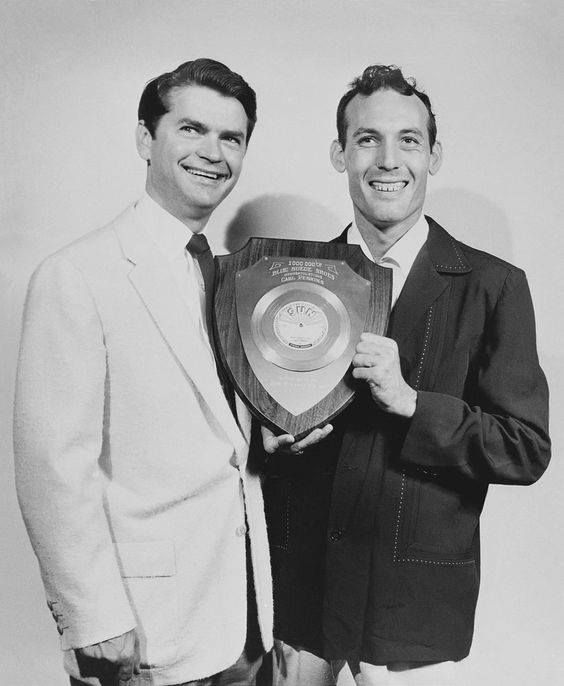 Sam Phillips and Carl Perkins | Country music stars, Country music artists, Rhythm and blues