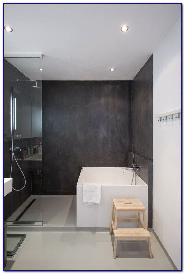 Petite salle de bain avec douche italienne et baignoire salle de bain - Petite salle de bain douche italienne ...