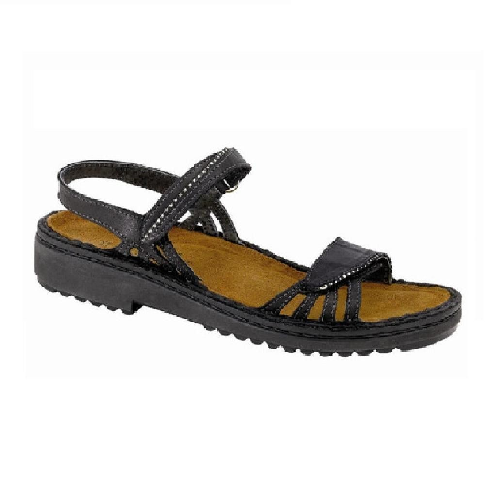7bf9fc357083 Naot Women s Anika Sandal-You will love the breathable comfort of the Naot  Anika sandal. The classic design features eyelet cut-outs for an airy feel  and a ...