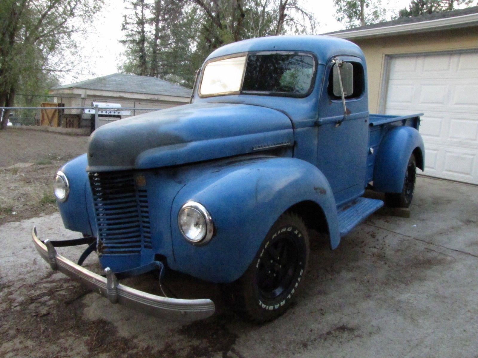 1941 International K1 1/2 Ton Short Bed Pickup Truck ...