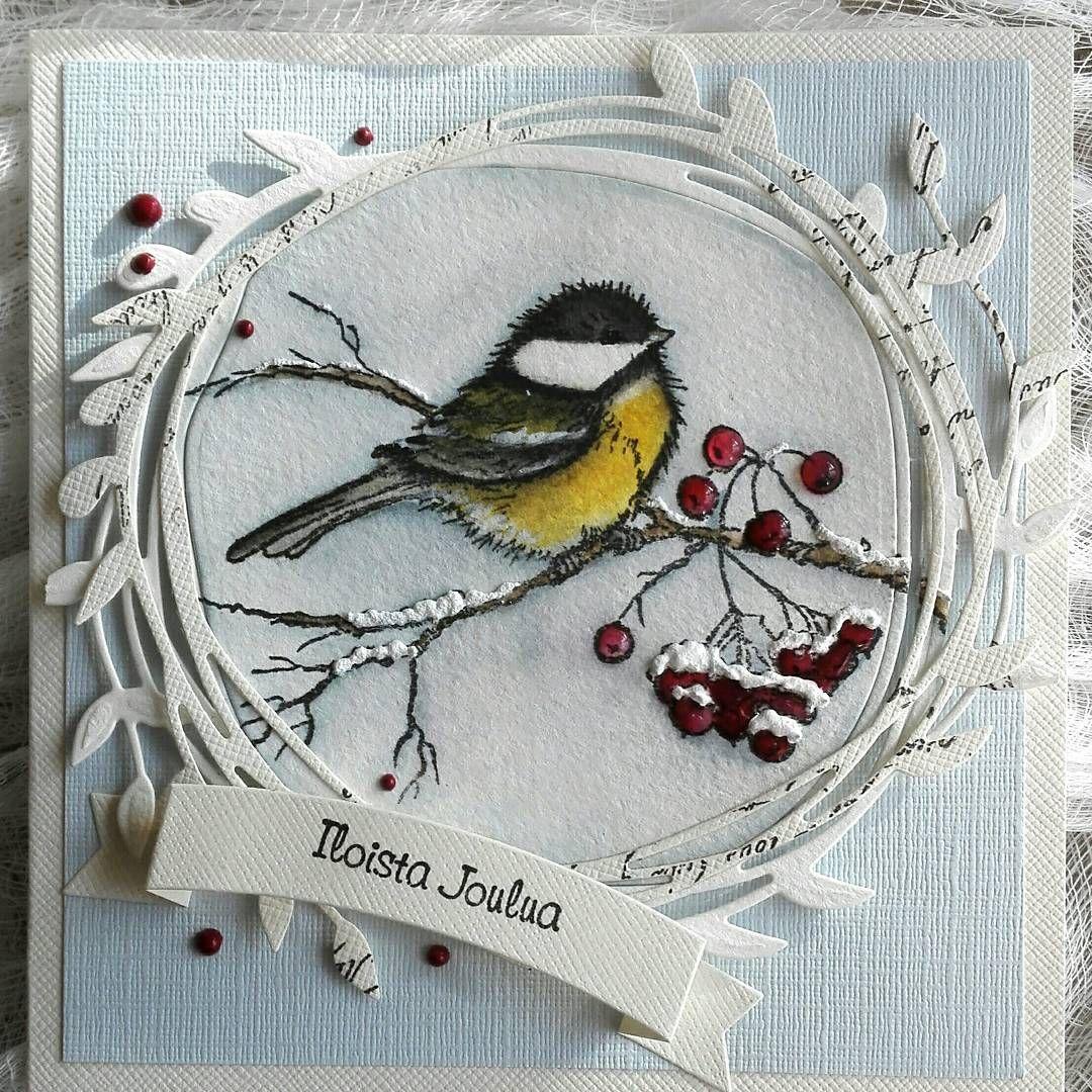 его открытки с птичками своими руками могут вызывать раздражение