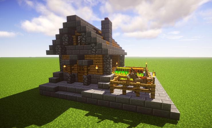 Oak Cottage (Starter House), creation #11124 | Minecraft ...