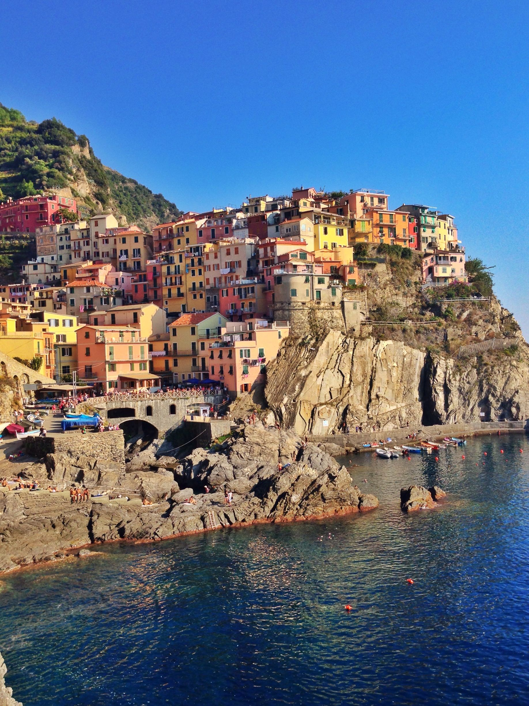 Colorful Manarola.