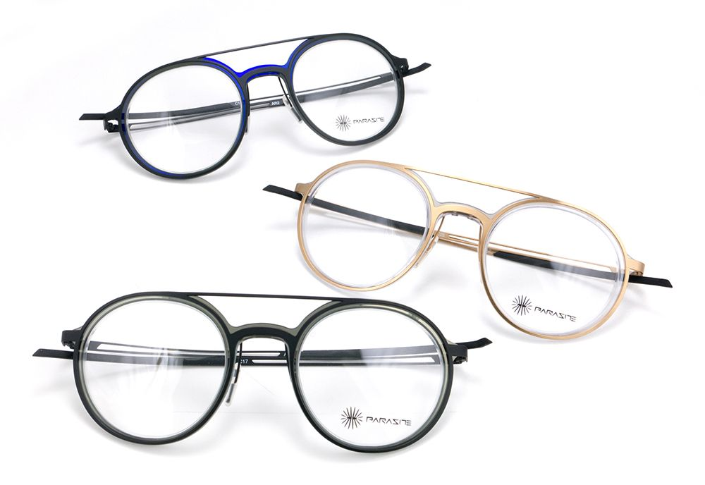Introducing the new Parasite Eyewear | Anti-Retro 2 featuring a round shape with double bridge. Available in 3 colors.