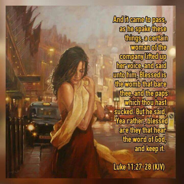 Hear The Word And Keep It \
