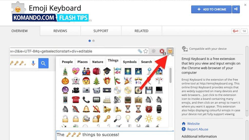 Add An Emoji Keyboard To Chrome Emoji Keyboard Emoji Chrome Web