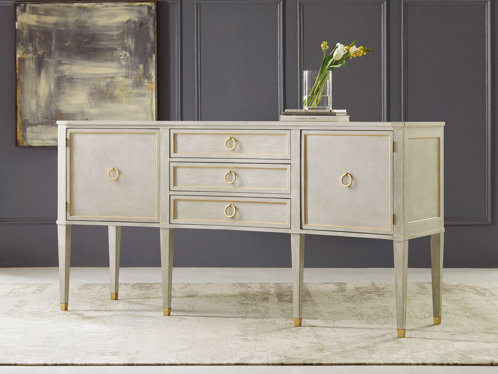 Concave Buffet Sideboards & Breakfronts Modern History