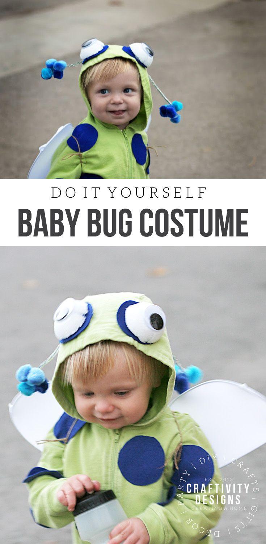 DIY Baby Bug Costume | Bug costume, Diy baby and Home-made Halloween