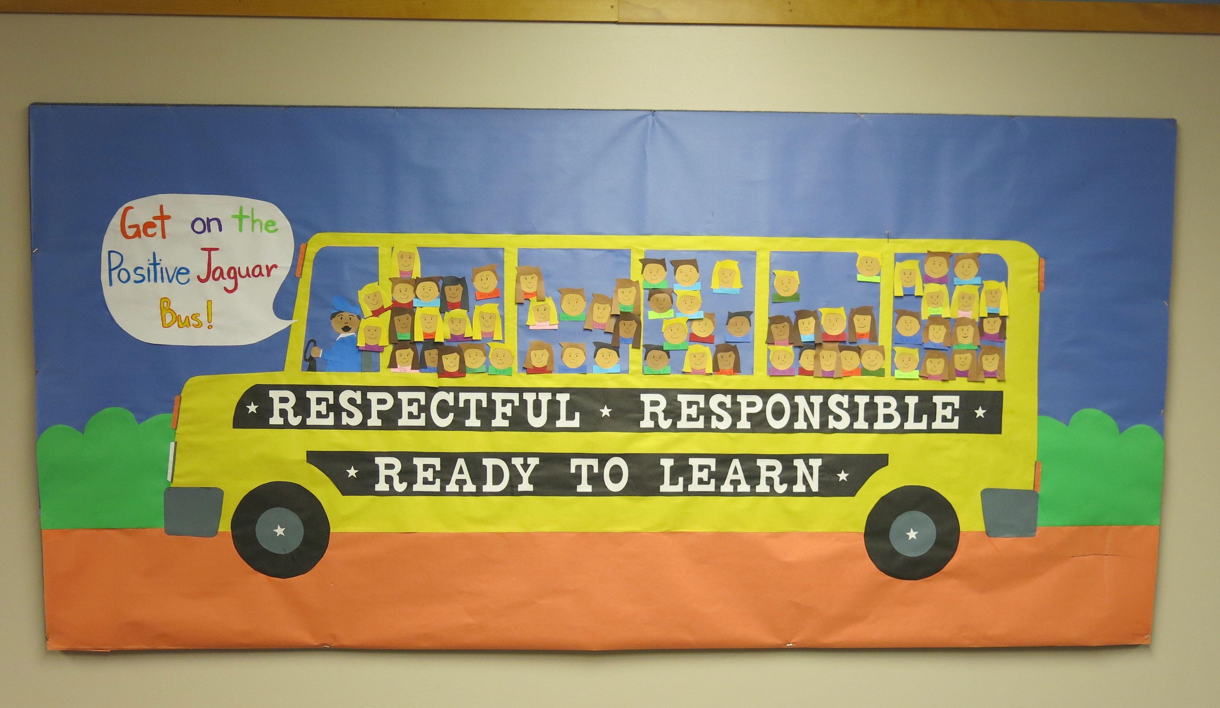 Back To School Whole School Positive Behavior Bulletin