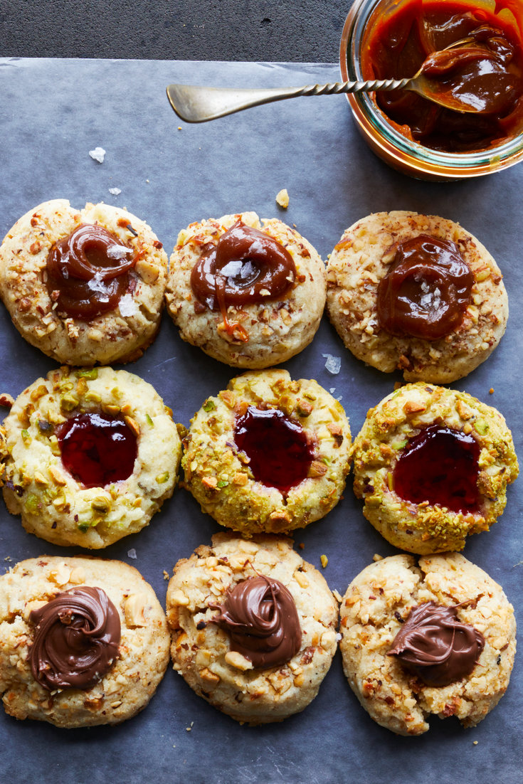 Thumbprints With Dulce de Leche, Nutella or Jam Recipe – NYT Cooking