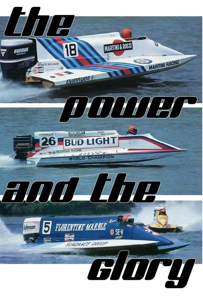 Champ Boat Formula One Outboard Performance Class Opc Tunnel Boat