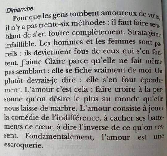 Frederic Beigbeder L Egoiste Romantique Citations Sur Les