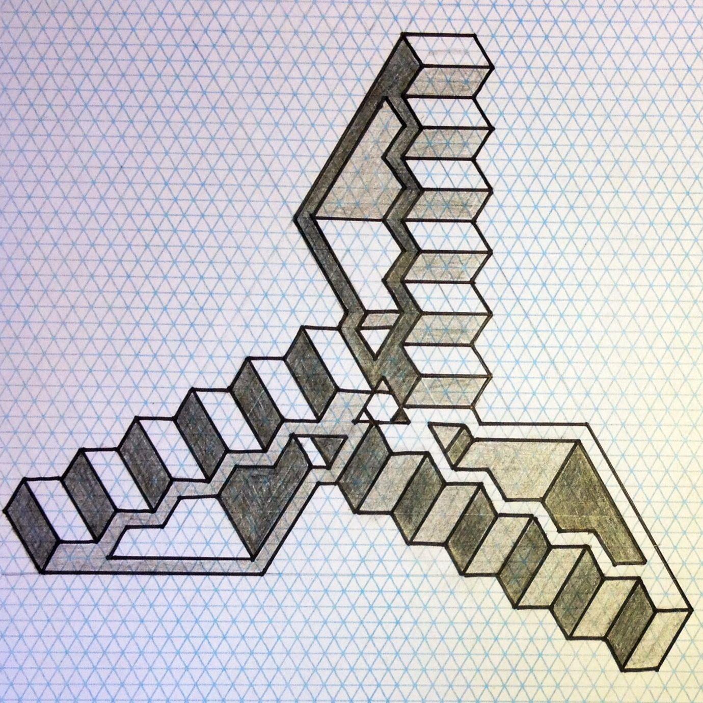 Impossible Opticalillusion Penrose Penrosetriangle
