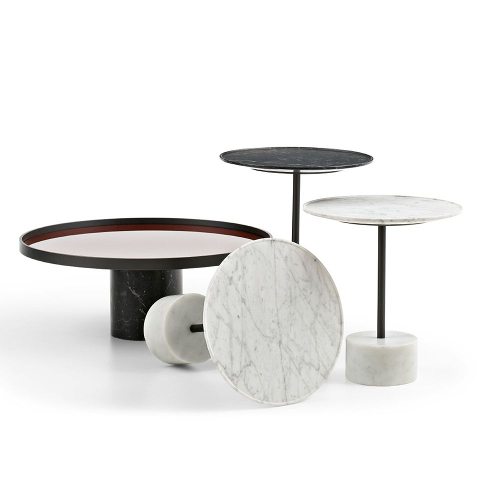 The 9 Side Table Is A Piero Lissoni Design From Cassina This