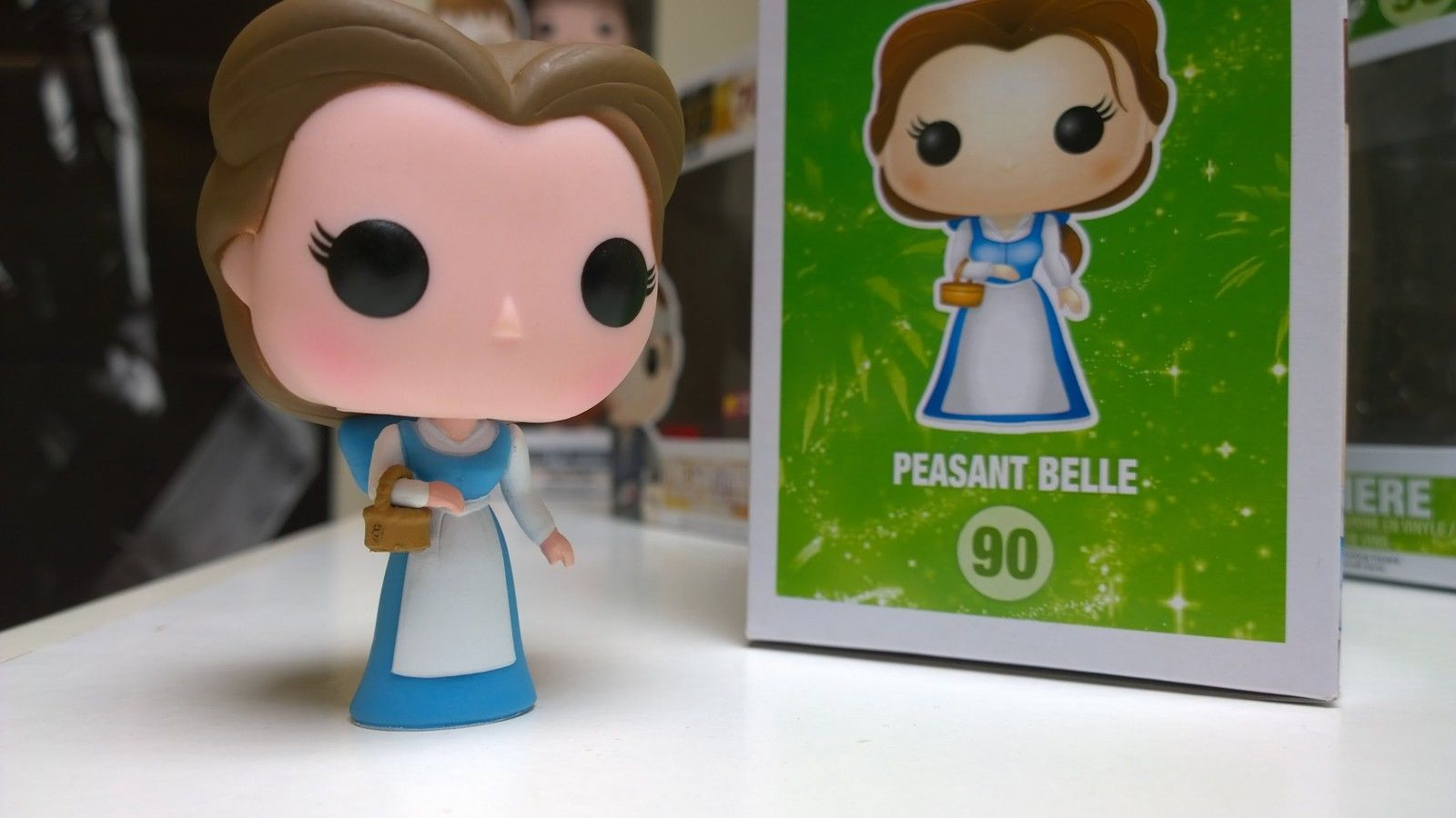 Details About Funko Pop Disney Belle 221 Vinyl Beauty And The