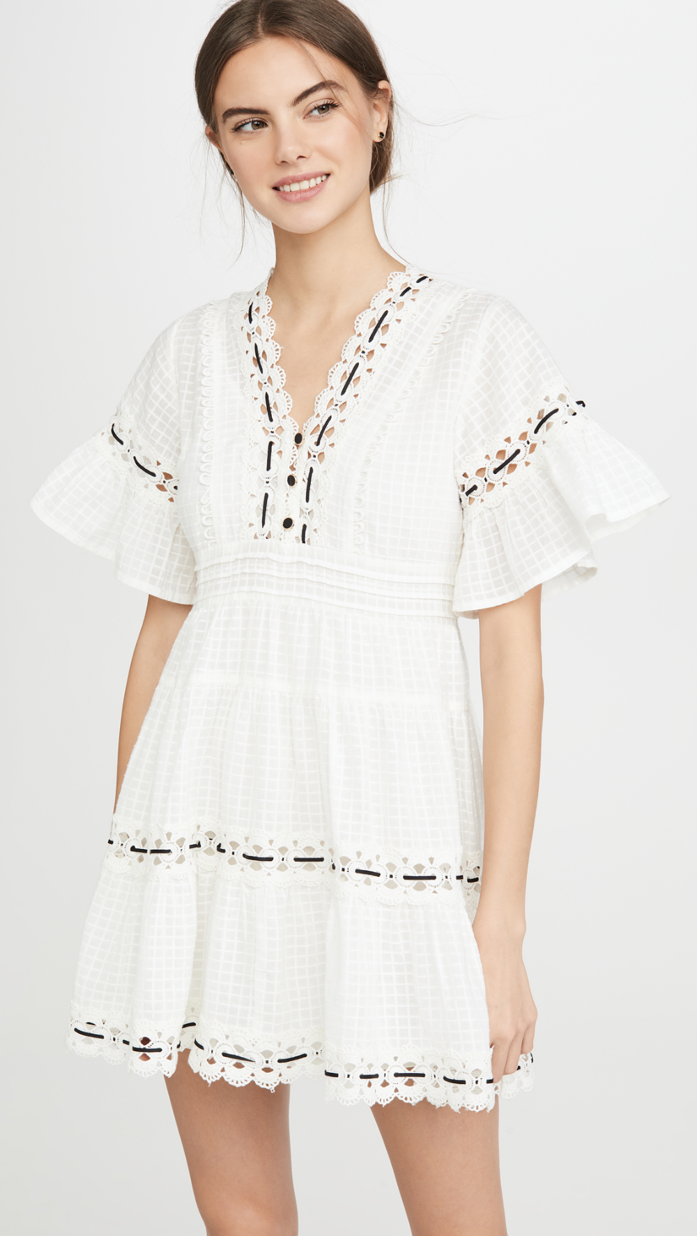 Rahi Marbella Tunic Dress Dresses Little White Dresses Striped Mini Dress [ 1773 x 1000 Pixel ]