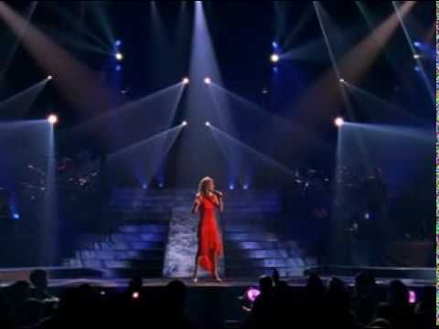 Because You Loved Me Celine Dion Live This Is From Her Live In Memphis Concert A Very Very Unique Per Celine Dion Celine Dion Live Great Music Videos