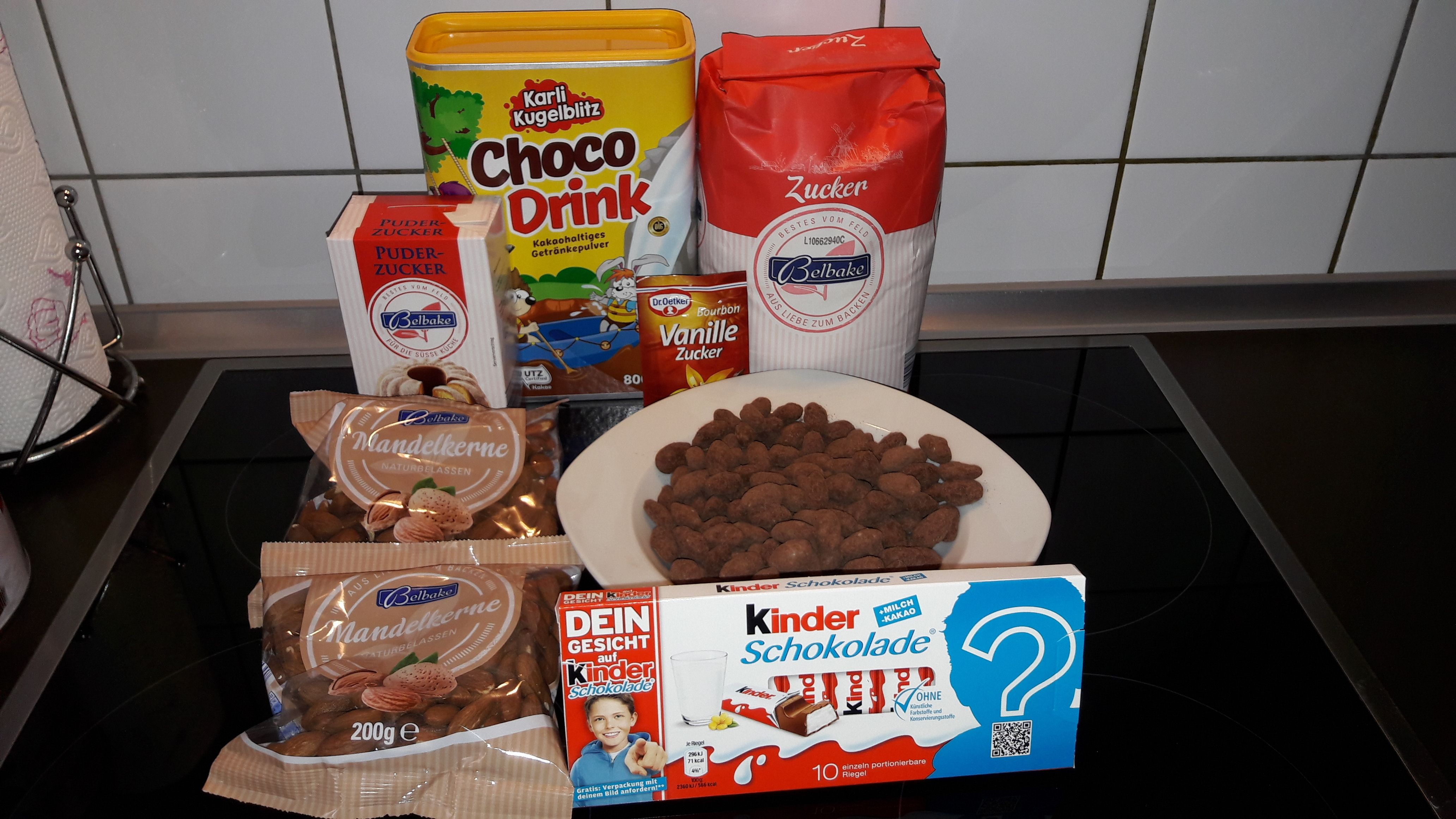 Gebrannte Mandeln Mit Kinderschokolade Rezept Thermomix